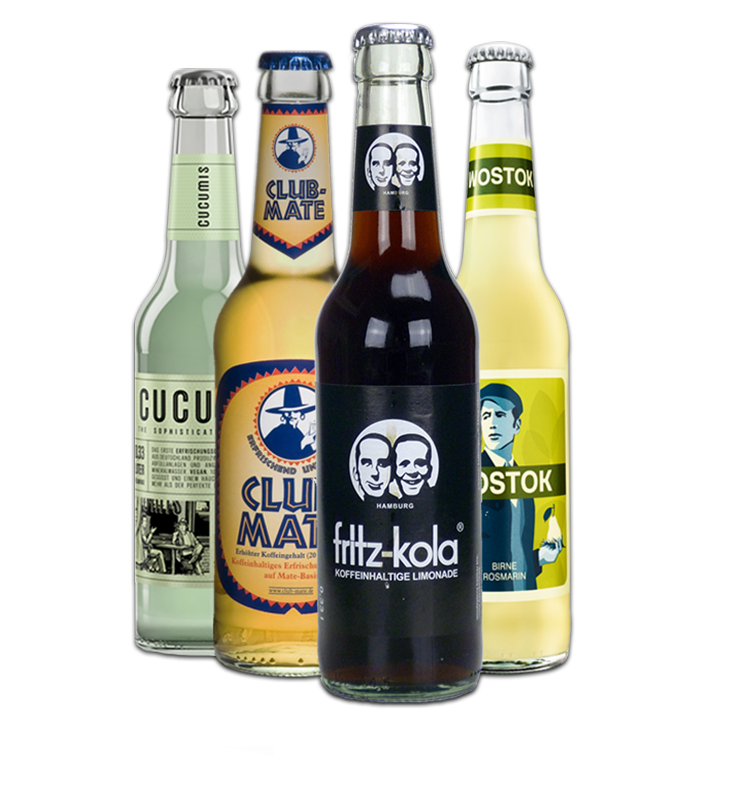 Drinks 52 - officiële verdeler van Fritz-Kola, Wostok, Club Maté, ...